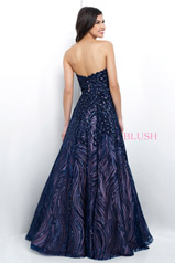 11395 Navy/Nude back