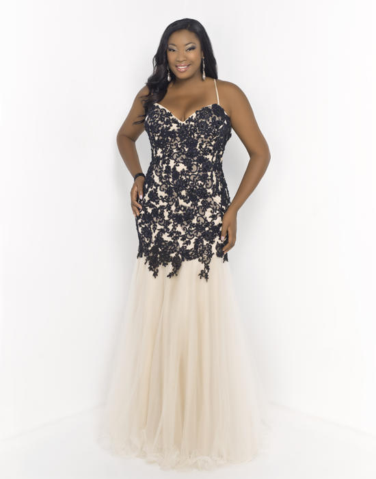 d79b3c8919f Blush W Plus size Prom 9975W Le Femme Boutique Allentown PA - Formal  Eveningwear