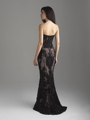 18-599 Black/Nude back