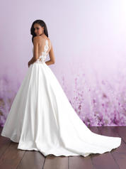 3112 Diamond White/Nude/Silver back