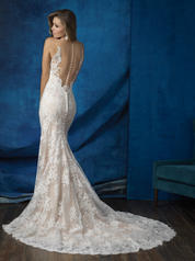 9363 Antique/Ivory back