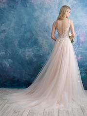9557 Champagne/Ivory/Nude/Silver back