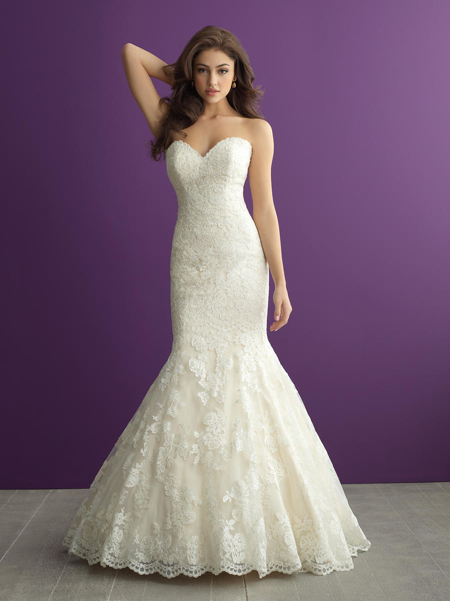 Allure Bridals Romance 2965 Romance Bridal By Allure Mockingbird