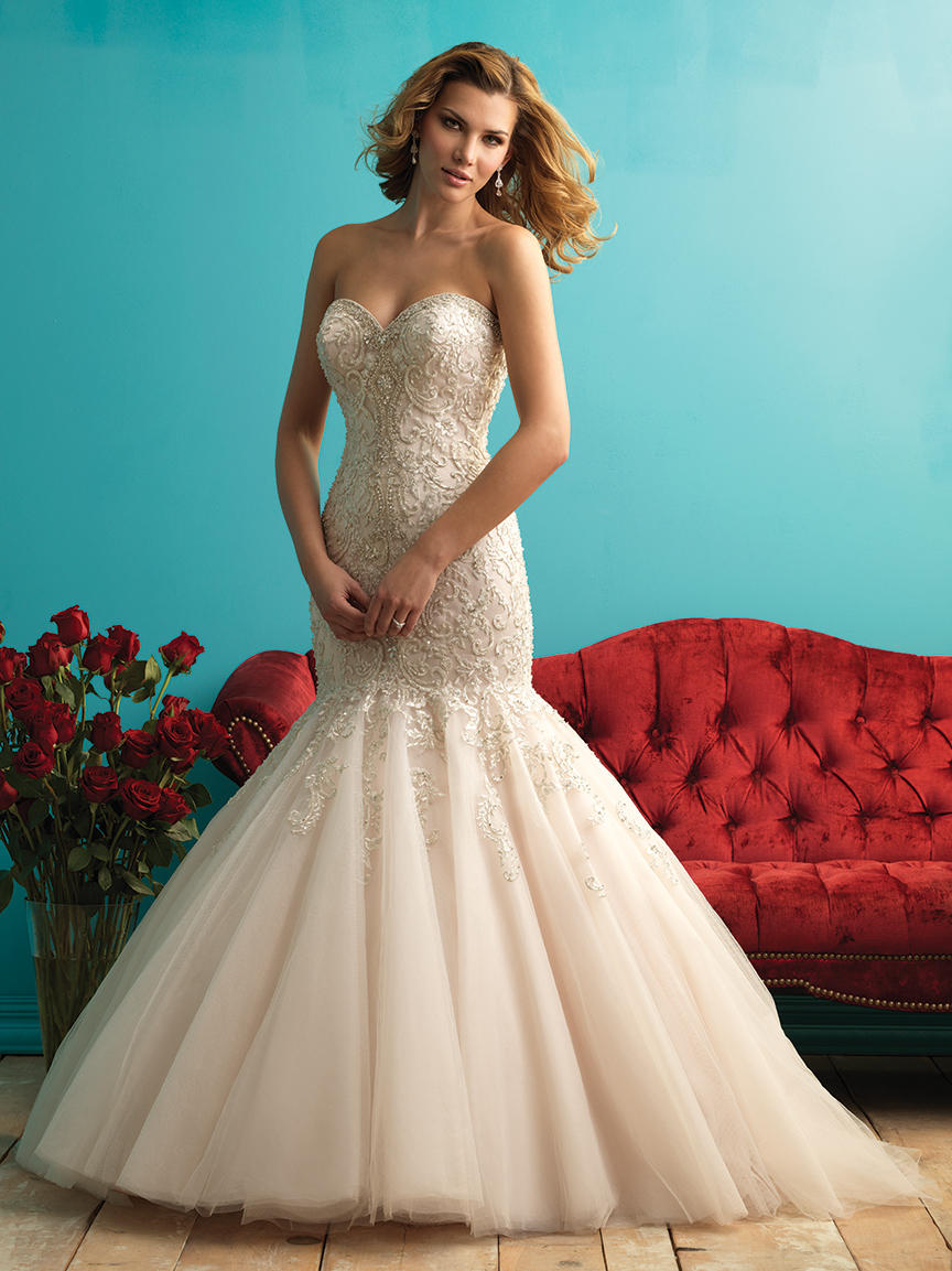 Allure Bridals 9275 Allure Bridal Mockingbird Bridall Dallas TX ...