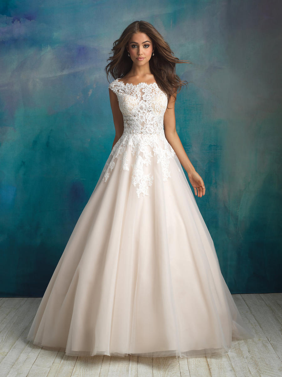Allure Bridals 9520 Allure Bridal Collection Prom Gowns, Wedding ...
