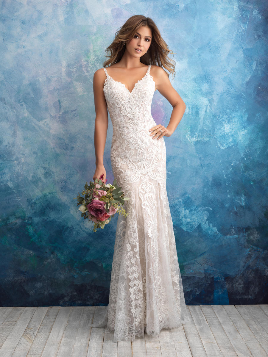 Allure Bridals 9575 Allure Bridal Collection Edith\'s Bridal ...