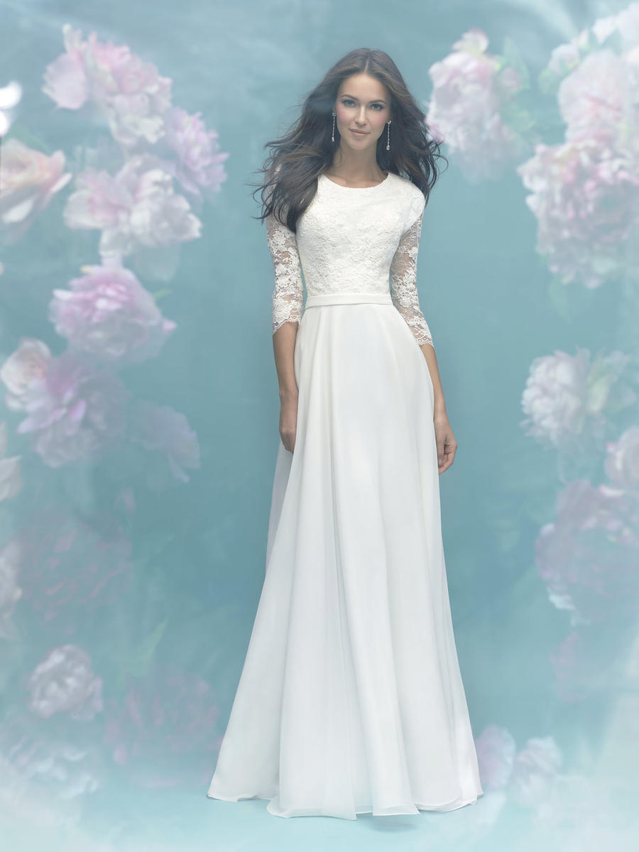 Allure Bridals Modest M581 Allure Modest Bridal Collection ...