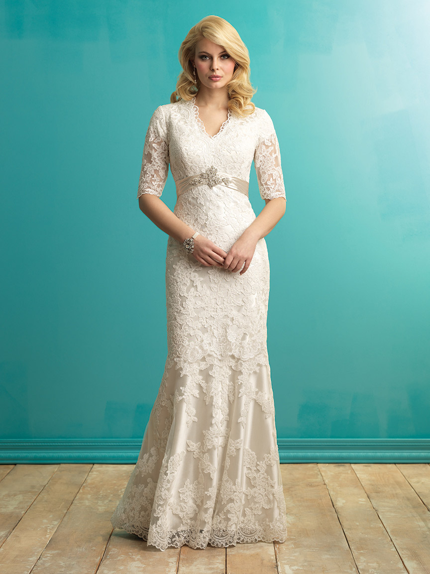 Allure Bridals Modest M546 Allure Modest Bridal Collection South\'s ...