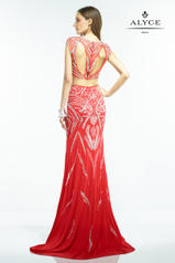 2546 Red/Silver back