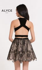2646 Black/Nude back