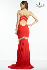35820 Red/Nude back