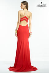 35822 Red/Nude back