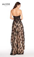 60084 Black/Nude back