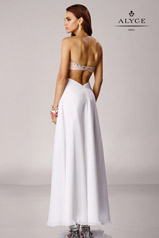 6454 White/Nude back
