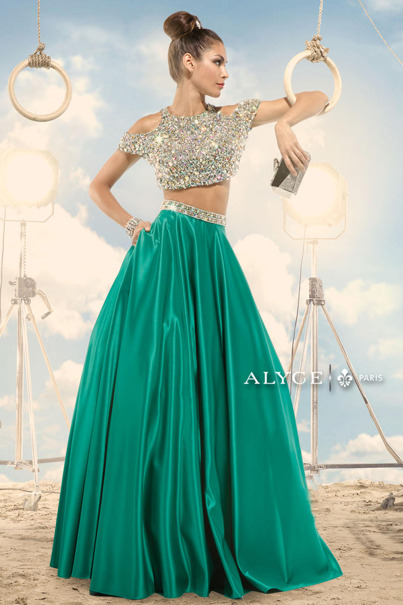 Claudine for Alyce Prom 2474 Claudine for Alyce Paris Hot Prom ...