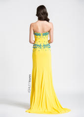 1054 Yellow/Turquoise back
