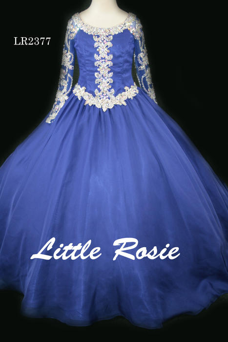 Little Rosie Long Pageant Dresses