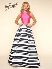 40589H Fuchsia Stripes front