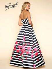 40597H Black/White/Rose back