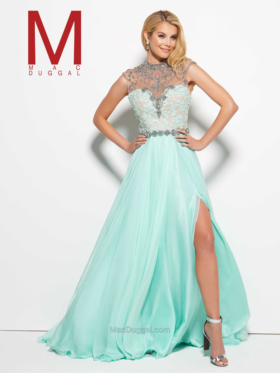 Mac Duggal Prom 10079M Mac Duggal Prom Reflections Bridal, Prom and ...
