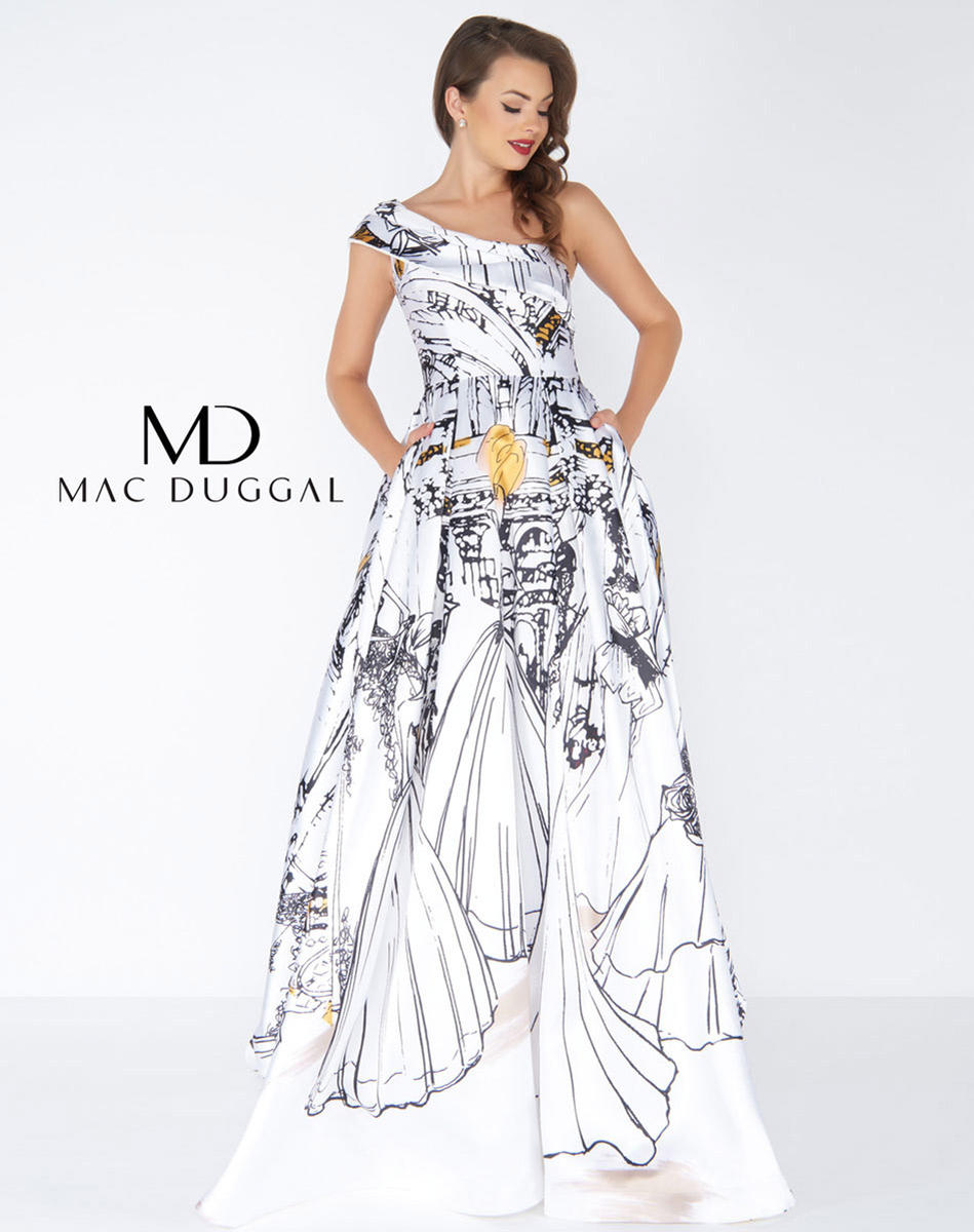 41d5a2c4d42 Mac Duggal Black White Red- Kimberly s Prom and Bridal Boutique ...