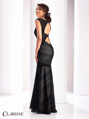 4805 Black/Nude back