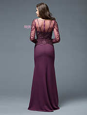 M195 Dark Mauve back