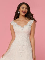 50444 Ivory/Baby Pink detail