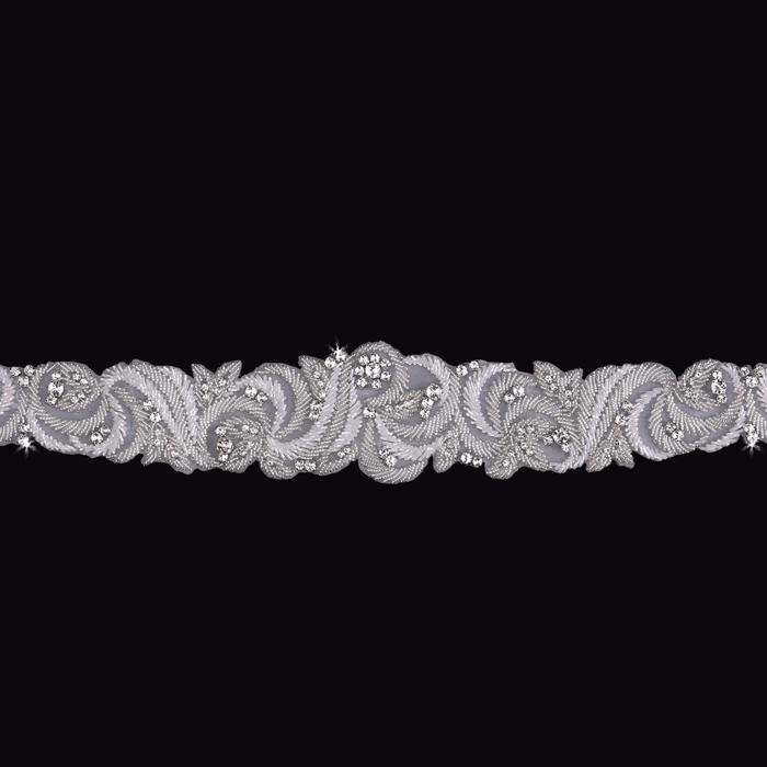 Beaded Wedding Belt
