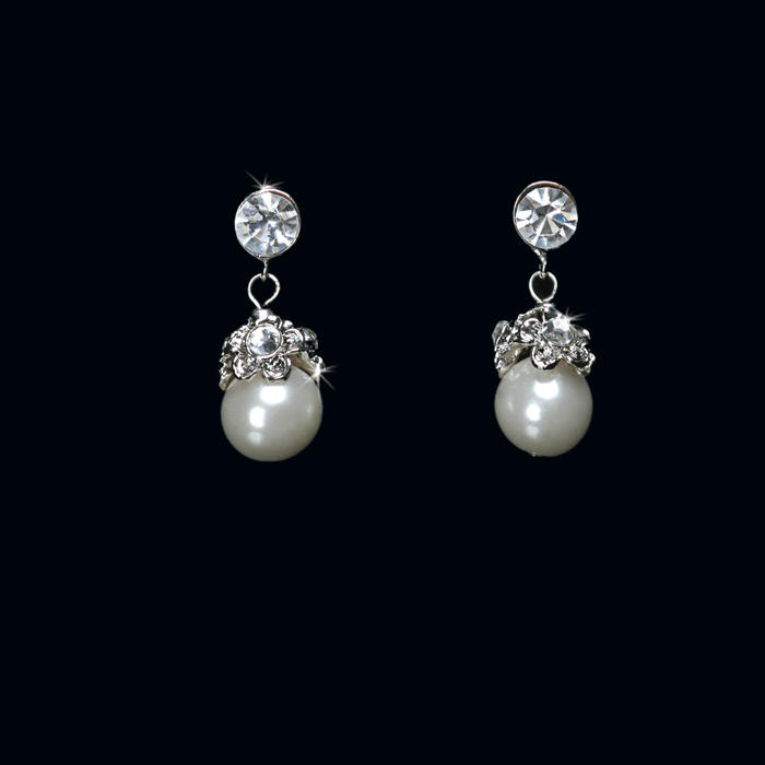 Pearl Bead Earrings