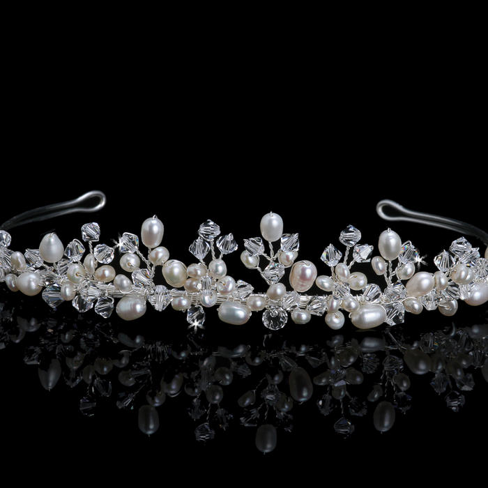 Cultured Pearl Tiara