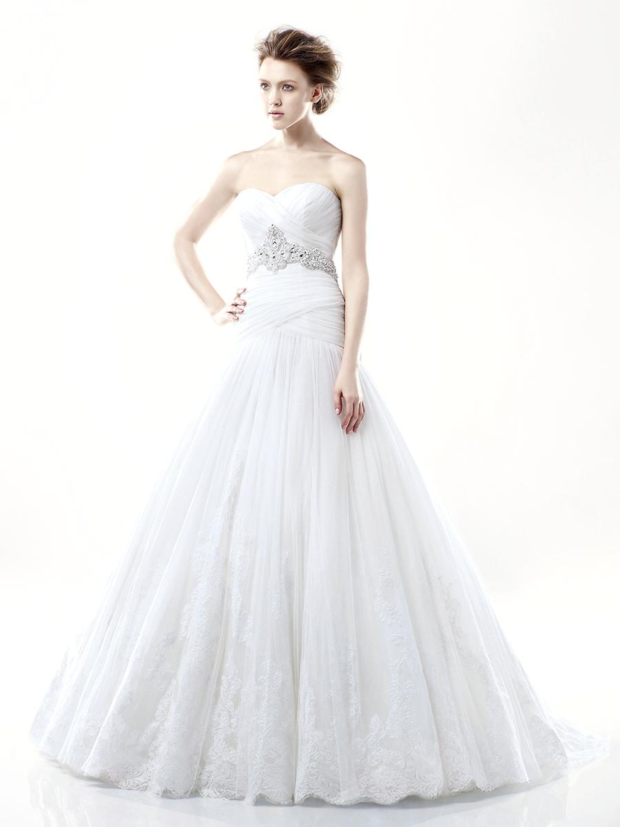 2e7486fa98 Blue Bridal by Enzoani Darwin Blue by Enzoani Mimi s Bridal and Prom ...