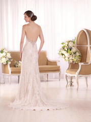 D2006 Ivory Lace and Tulle over Mink Lavish Satin back