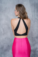 2122 Black Fuchsia back