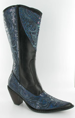 LB-0290-10_Black_and_Blue� Helen's Heart Boots