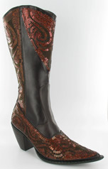 LB-0290-10_Brown-Bronze� Helen's Heart Boots