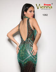 1082 Black/Emerald back
