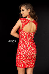 6036 Red/Nude back