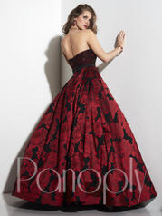 14822 Red/Black Rose back