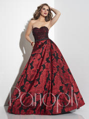 14822 Red/Black Rose front