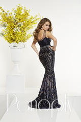 14872 Navy/Nude back