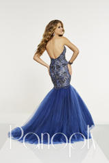 14898 Navy/Nude back