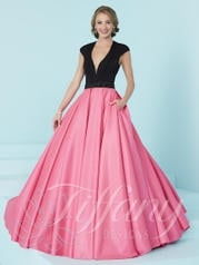 16200 Black/Peony Pink front