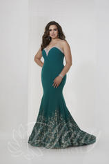 16318 Teal/Nude front