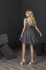 27240 Gunmetal/Nude back