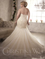 29278 Ivory/Light Gold/Silver back