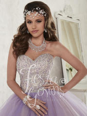 56302 Sparkle Lilac/Ivory detail