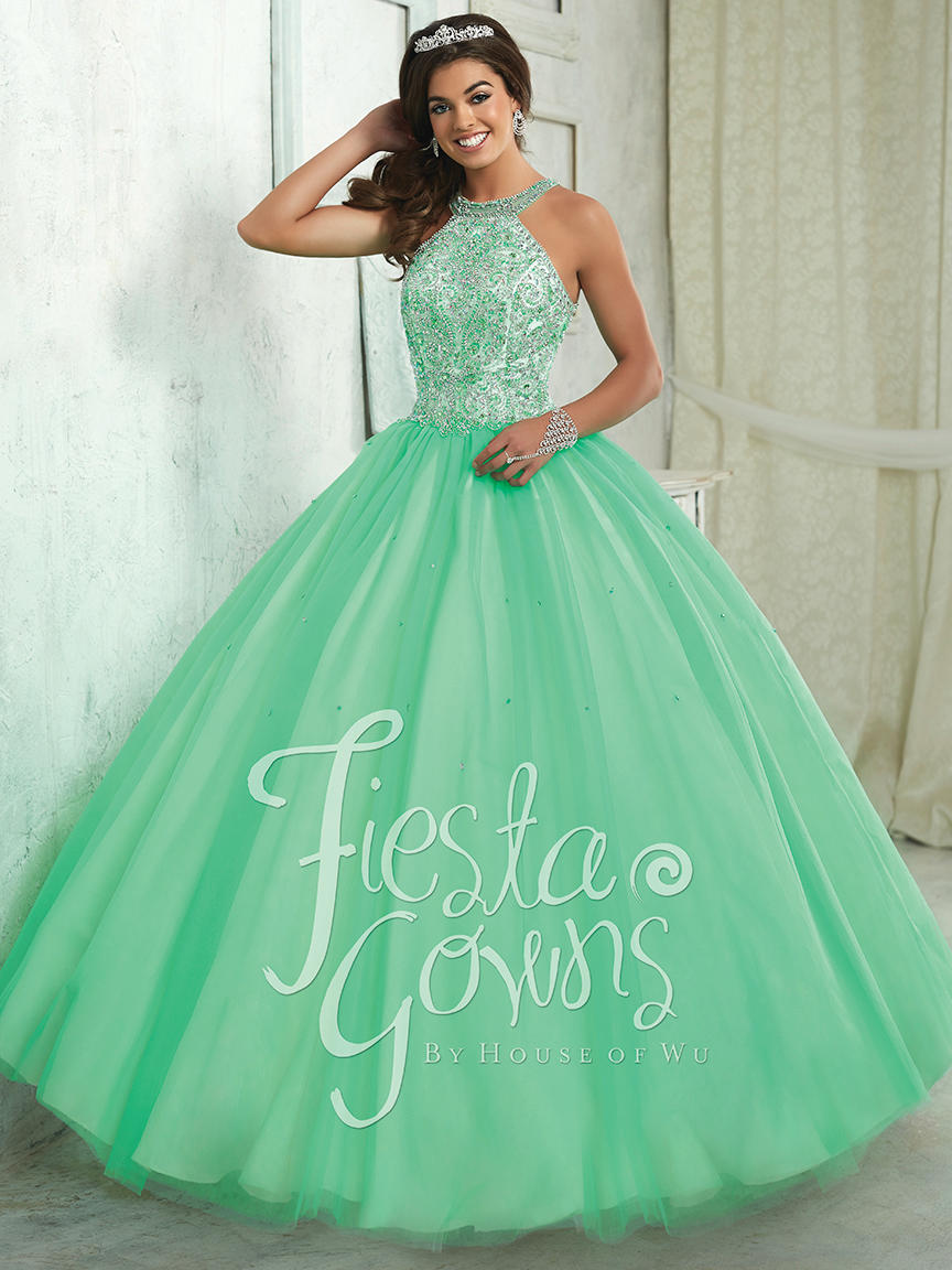 3dec25a7efb Fiesta Quinceanera 56316 Fiesta Quinceañera Ball Gowns G2 by Georgio s