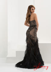 5568 Black Nude back