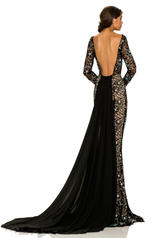 8009 Black/Nude back